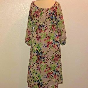 Old Navy Maternity - Floral Peasant Dress (Medium)